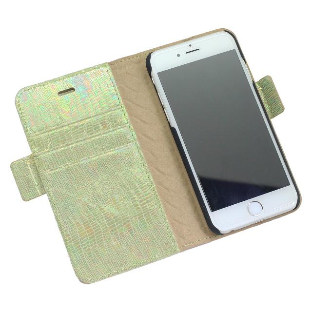 iPhoneケース ライトグリーン