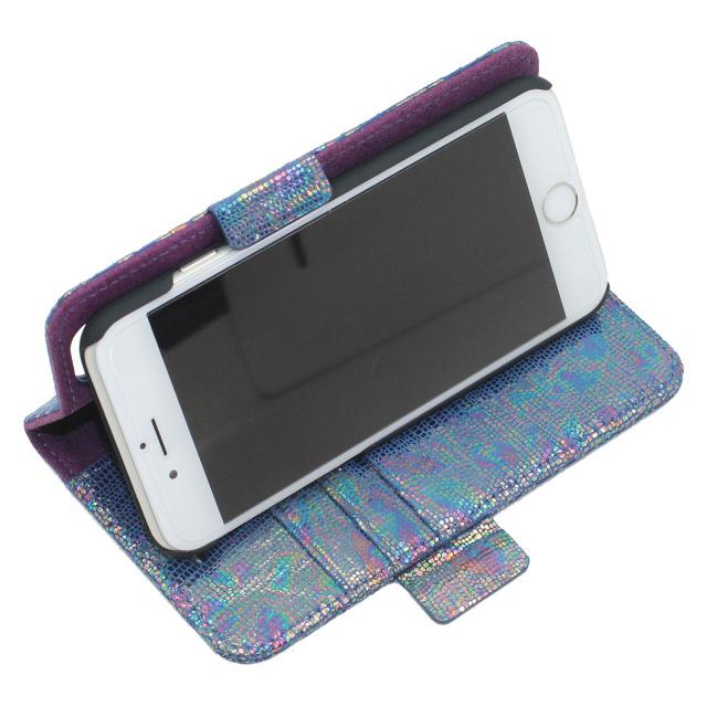 iPhoneケース ブルー系